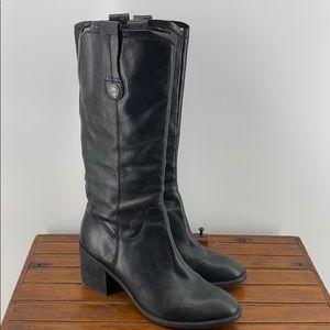 Kirk-Ease Laura Black heeled boot BIN20 US 9
